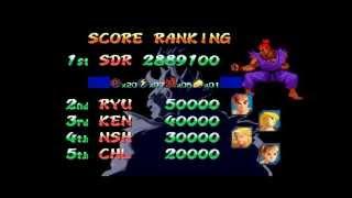 DM03 Street Fighter Alpha 3 ~ Ken/Chun-li Playthrough 【TAS