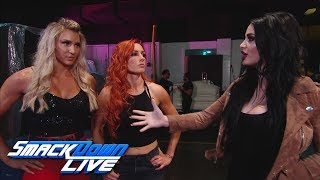 What does Paige have planned for Charlotte Flair & Becky Lynch?: SmackDown LIVE, May 29, 2018