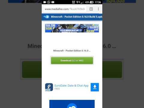 Nova Atualizacão Do Minecraft Pe 0.16.0 Build 5 (Download Pelo MediaFire)