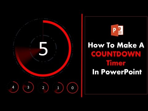 How to create a 5 second Countdown Timer in PowerPoint