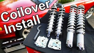 how to install coilovers in your car