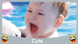 Funniest Babies go Swimming For The First Time