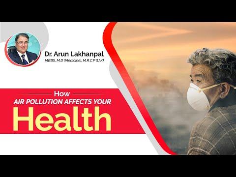 Air Pollution - Dr Arun Lakhanpal, Senior Consultant (Pulmonologist)