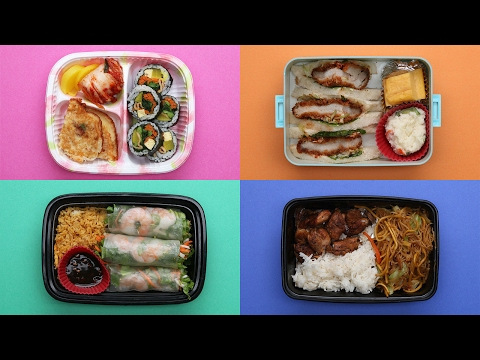 What Asian American School Lunches Look