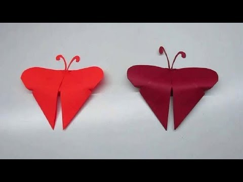 Origami Butterfly - How to make an easy Origami Butterfly for beginners - 2