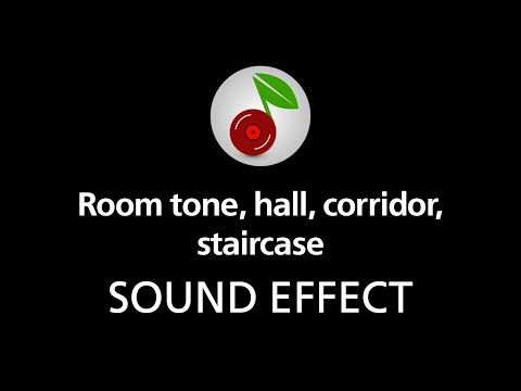 🎧 Room tone hall corridor staircase LOOPED SOUND EFFECT