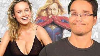 Brie Larson (capità Marvel) É Chata Pra Caramba, SerÁ Mesmo?