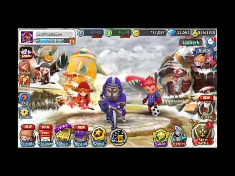 Hello Hero - 50+ Royal Hero Packs (17,000 Carats)