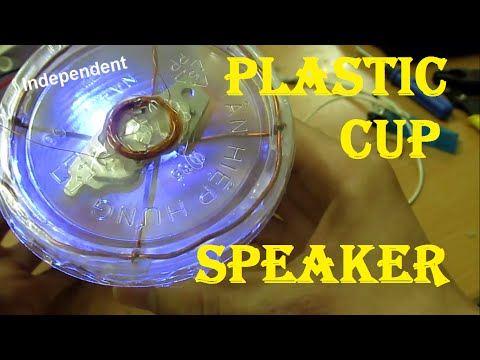 How to Make a Speaker out of Plastic Cup