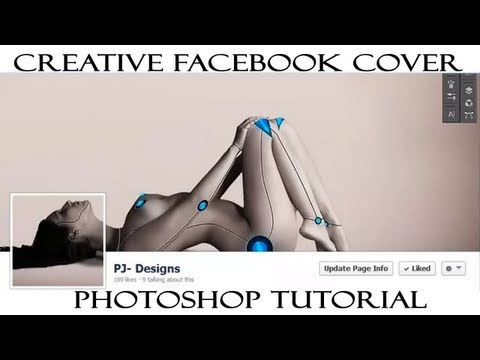 Creative Facebook Cover in Photoshop