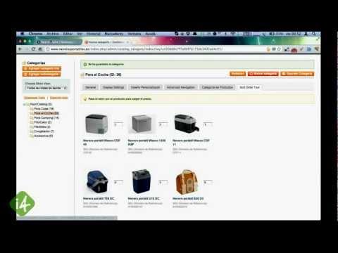 interactiv4 Drag&Drop Product Category Sort Tool
