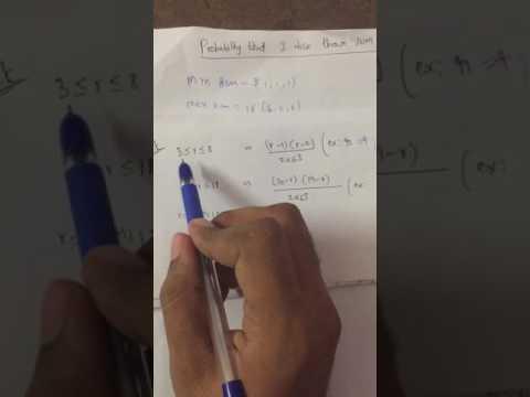Probability three dice sum GRE GMAT CAT