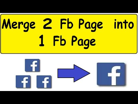 how to Combine Facebook pages info in hindi-Fb pages ko merge kaise karey