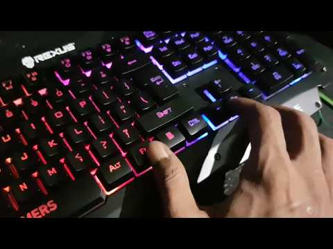 Unboxing Rexus Battlefire | Keyboard Gaming