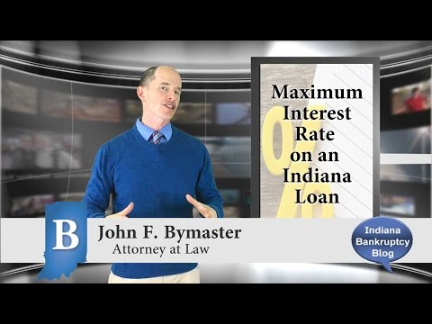 How Much Interest is Allowed on a Loan in Indiana?