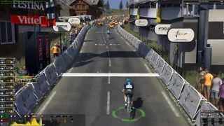 Pro cycling manager 2015 gameplay: Modane Valfréjus - Alpe d'Huez [1080p] [ITA]