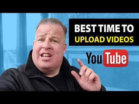 When Is the Best Time To Upload Videos To YouTube?