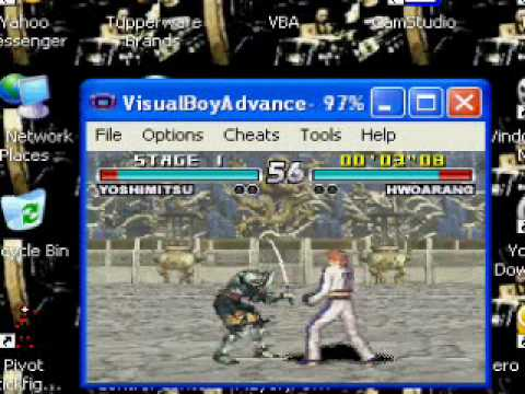 How To Change The Controls Of Visual Gameboy Advance (VGA) HD 2010