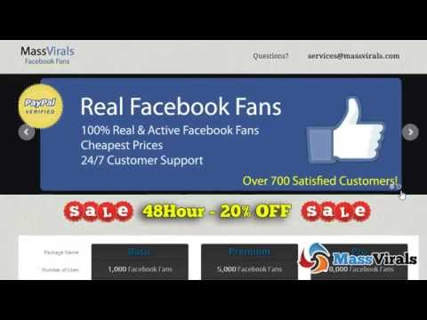 How to Increase Likes On your facebook Fan Page