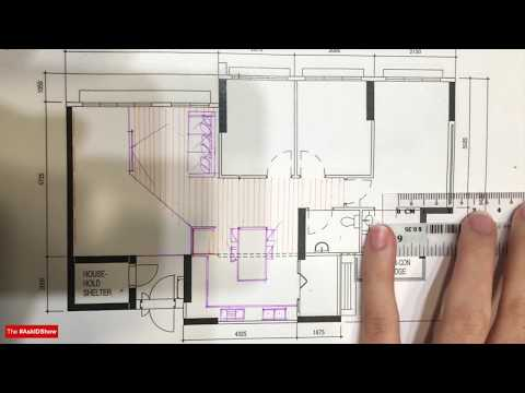 Space Planning for kitchen and bedroom