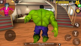 HULK Enter In Miss T House - Scary Teacher 3D New Prank Funny Android game