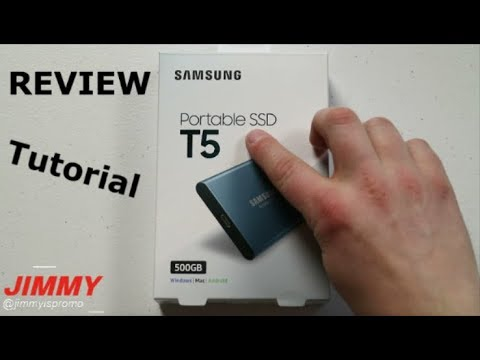 Samsung T5 Portable SSD - REVIEW & TUTORIAL