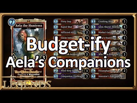 (TES: Legends) Budget-ify #14: Aela's Companions