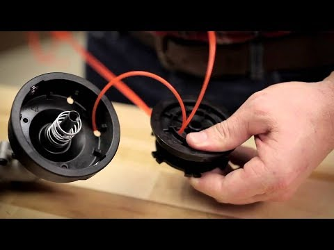 How to install your line on a Echo Trimmer srm 225 fast and easy