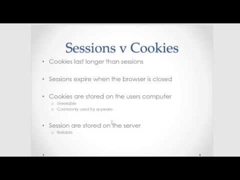 Cookies vs Sessions in PHP