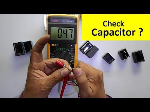 How to Check Filter Capacitor Easily with Multimeter