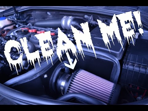 How to Clean Your Cold Air Intake Filter
