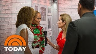 J.lo Drops By To Support Co-host A-rod & Shares Details About Their Relationship | Today