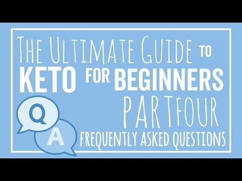 The 8 Most Common Keto Questions - The Ultimate Guide!