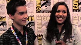 Geeking Out: Comic Con Exclusive Interview w/ Jeremy Shada (Finn) & Olivia Olson (Marceline)