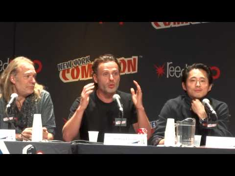 Andrew Lincoln Part II @ New York Comic-Con