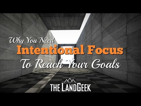 Why You Need Intentional Focus To Reach Your Goals