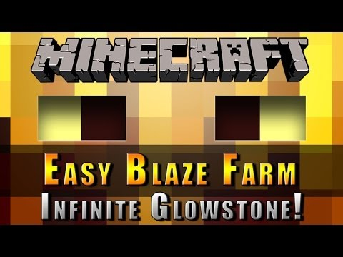 Minecraft :: Blaze Farm :: Infinite Glowstone! Xbox, Playstation + PC