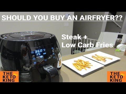 Low Carb Fries in Air Fryer | Meat in Air Fryer | Should I Buy Air Fryer | What is Airfryer