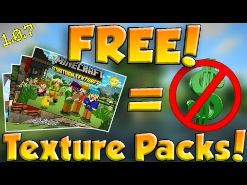 How to get ALL MCPE texture packs for FREE! | MCPE 1.0.8 | NO Jailbreak!