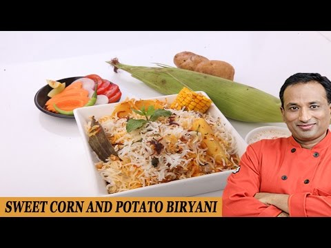 SWEET CORN & POTATO BIRYANI