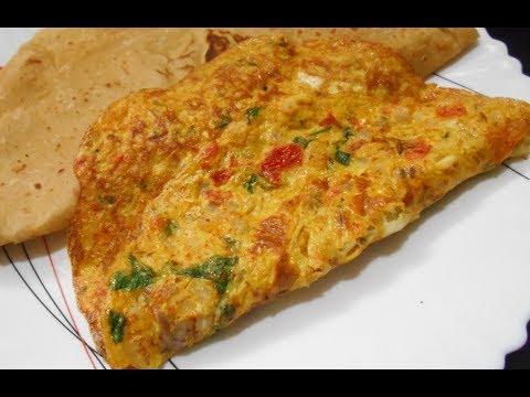 Indian Masala Omlete|| How to make perfect Masala Omlet || Easiest Vegetable Omlette
