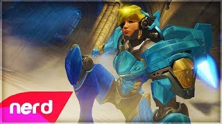 Overwatch Song | Justice Rains From Above (Pharah Song) | #NerdOut! ft Halocene & Valkia