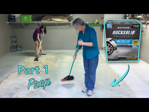 Concrete Garage Floor: Prep for Coating