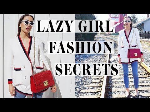 Lazy Girl Secrets To Dress Like A Fashion Icon