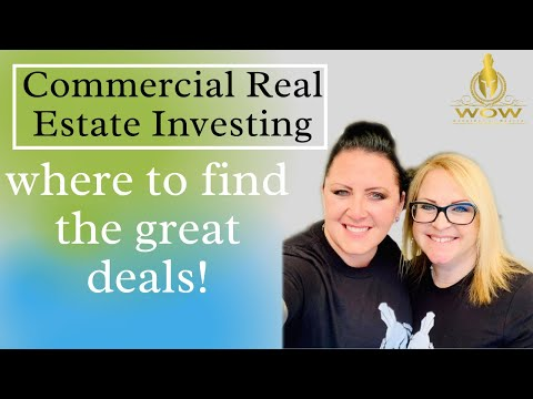 Commercial Real Estate Investing - where to find the great deals!