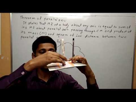 Parallel Axis Theorem Rotational Motion Maharashtra Board Physics Class 12