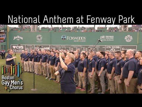 Boston Gay Men's Chorus Sings National Anthem at Fenway Park