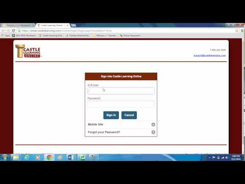 Milks/MoNaCo - All Students - How to Log in to Castle Learning