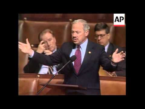 USA: HOUSE OF REPRESENTATIVES VOTE AGAINST LEGALISING GAY MARRIAGES