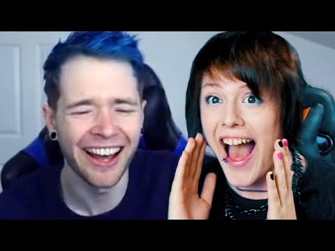 DanTDM REACTS TO MY SONGS.... AGAIN!!